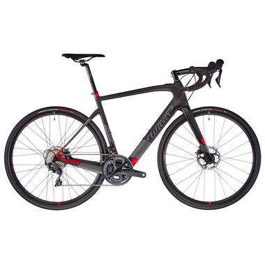 Bicicleta de carrera eléctrica WILIER TRIESTINA CENTO1 HYBRID Shimano Ultegra R8020 34/50 Negro/Rojo 2021